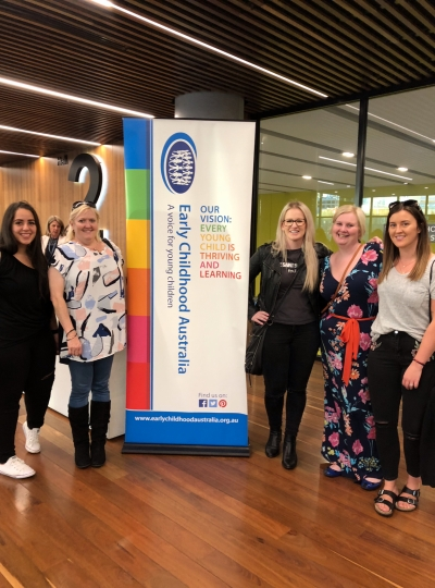 Our MICCC Team at the ECA Conference in Sydney 2018